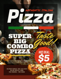 Pizza Fast Food Flyer