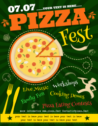 PIZZA FEST FLYER