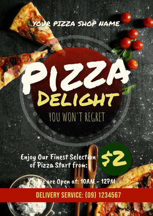Pizza flyer