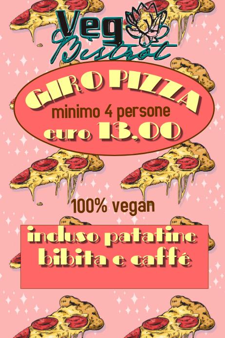 Plantilla de Pizza Folletos   PosterMyWall