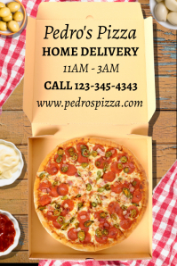 Pizza Home Delivery Food Template