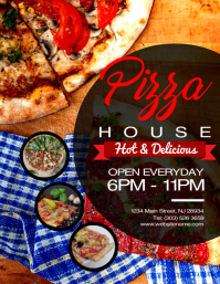 3 610 customizable design templates for pizza restaurant postermywall