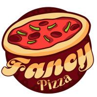 Pizza logo design free template