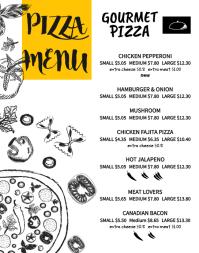 free printable menu maker