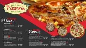 Pizza Menu Tv Ad Menu Template Pantalla Digital (16:9)