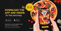 pizza order Image partagée Facebook template