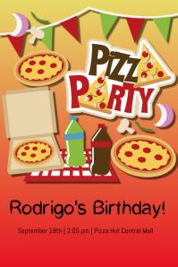 pizza party flyer elita aisushi co