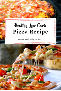 Pizza Pinterest Pin Design Template