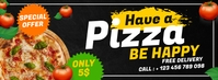 pizza place special offer advertisement Ikhava Yesithombe se-Facebook template
