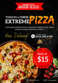 Pizza Premium Flyer