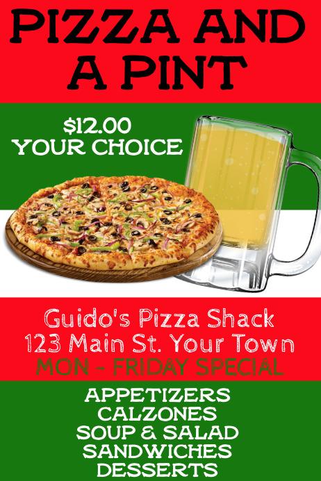 Pizza Restaurant Advertisement
