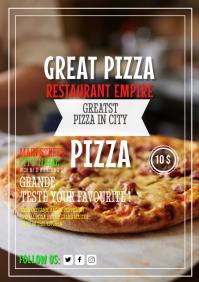 Pizza Restaurant Flyer Template