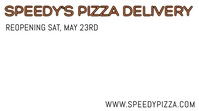 Pizza Restaurant Home Delivery Video Template Digitale Vertoning (16:9)