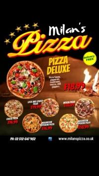 Pizza Restaurant Instagram Template