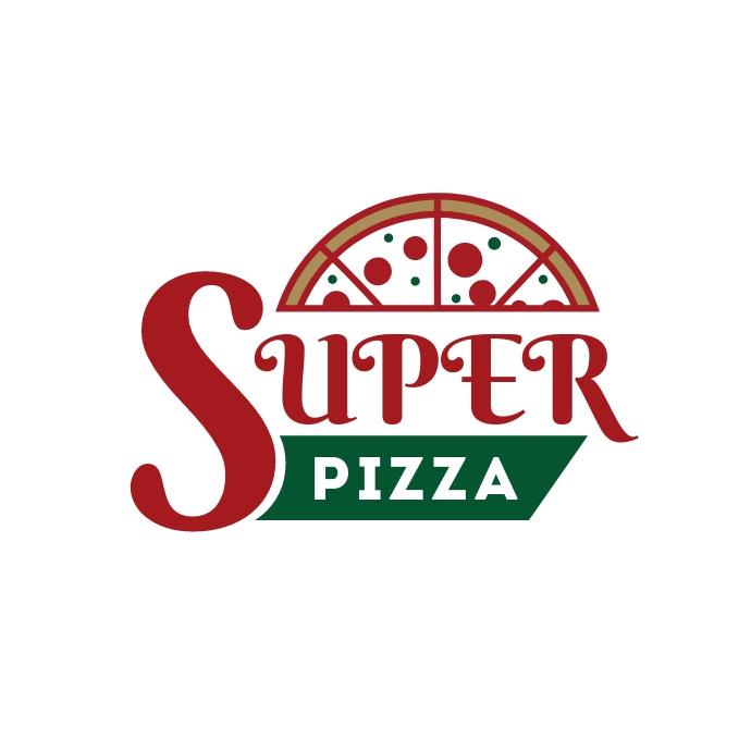 Pizza Restaurant Logo template