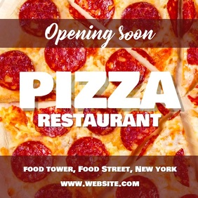 Pizza restaurant opening