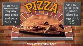 Pizza Restaurant Video Ad Template
