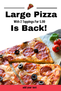 Pizza Sale/Restaurant/Food sale