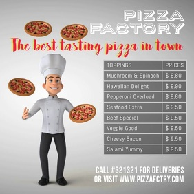 Pizza Shop template