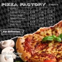 Pizza Shop video template