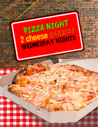 Pizza Special Flyer Advertisement Template