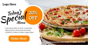 Pizza Special Offer Facebook Ad template
