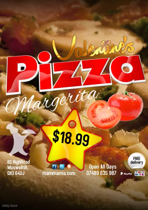 Pizza Special Video