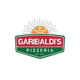 Pizzeria Restaurant Logo template