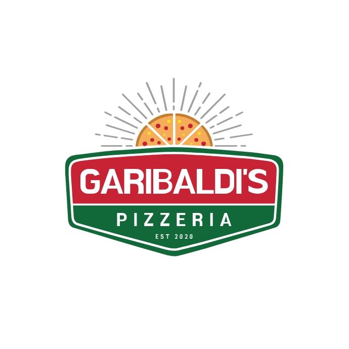 Pizzeria Restaurant Logo Logótipo template