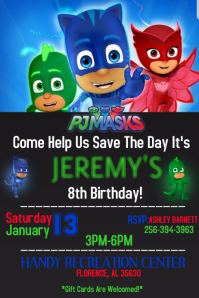PJ MASK PARTY