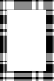 Plaid Party Prop Frame