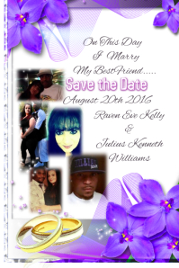 plain template save the date
