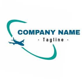 Plane Logo // flying logo