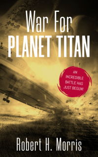 Planet Titan Sci-Fi Book Cover