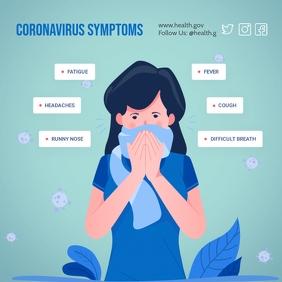 Plantilla coronavirus