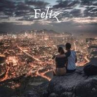 Amor y amistad Instagram Post template