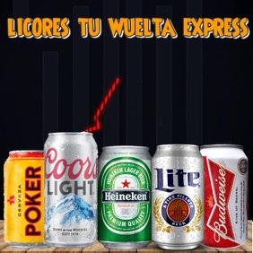 Plantilla Licores y Beer
