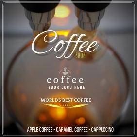 Plantilla para cafetería Iphosti le-Instagram template
