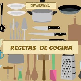 plantilla para libro de cocina Instagram Post template