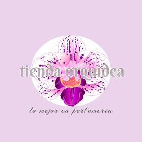 plantilla para logo de una tienda o empresa de perfumeria