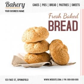 Plantilla para panadería Instagram-opslag template