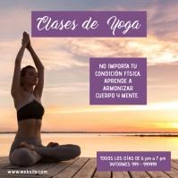 plantilla para post de yoga
