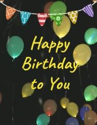 plantilla para tarjeta de cumpleaños