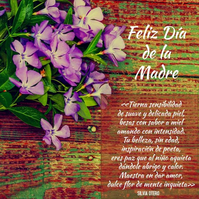 Plantilla Para Tarjeta Del Día De La Madre Template Postermywall
