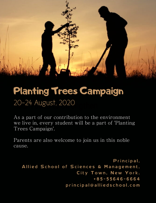Planting Trees Campaign