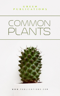 Plants Book Cover Design