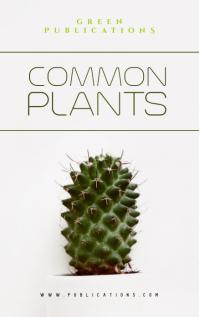 Plants Book Cover Design