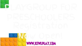 Play Group Video Template Ekran reklamowy (16:9)