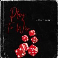 Dice WIN mixtape cover design template Okładka albumu