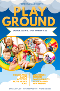 Playground Flyer Design Template